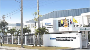 Tsubakimoto Automotive (Thailand) Co., Ltd. facilities